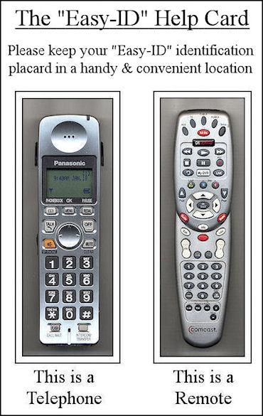 Senior Telephone - Remote ID 06 - SM