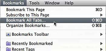 Bookmarktabs