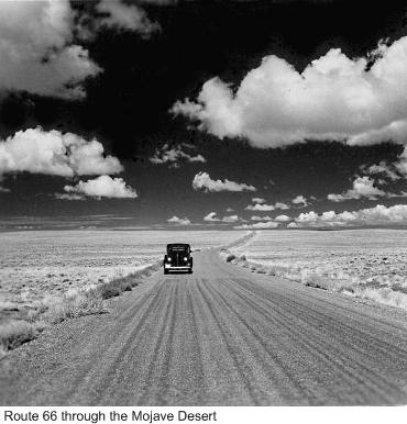 Route66-Mojave Desert1943