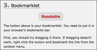 drag the bookmarklet into your bookmarks bar