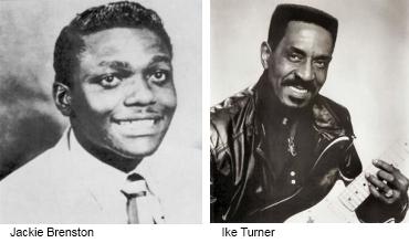 Jackie Brenston and Ike Turner