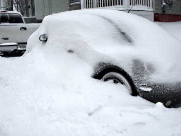 Another Snow Covered Car