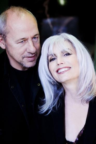 Emmylou with Mark Knopfler