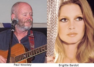 Paul Wookey and Brigitte Bardot