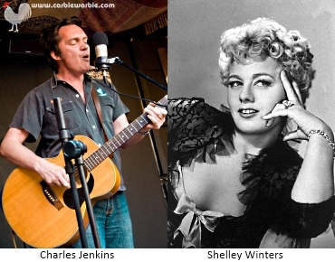Charles Jenkins and Shelley Winters