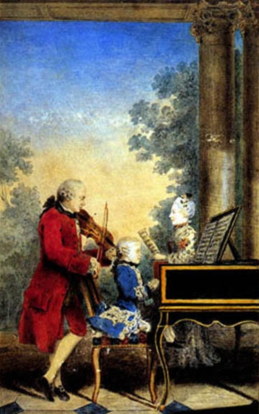 Mozart when a Child