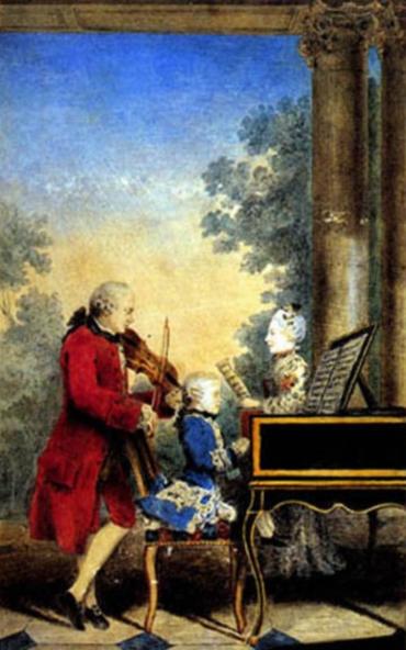 Mozart when a Child