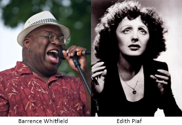 Barrence Whitfield and Edith Piaf
