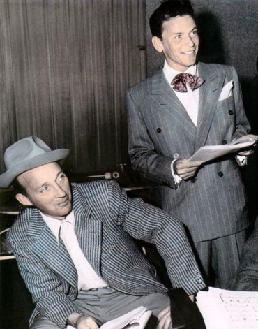 Bing Crosby and Frank Sinatra