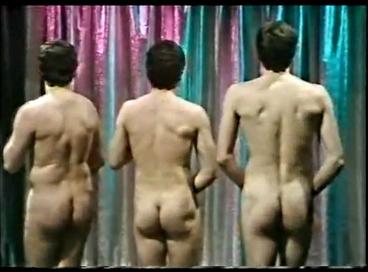 Naked Balloon Guys Butts