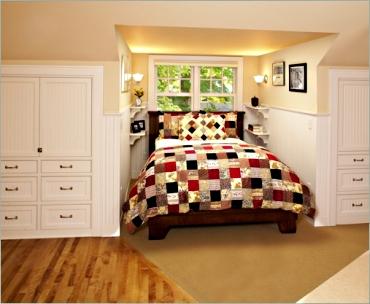 Garage dormer bed