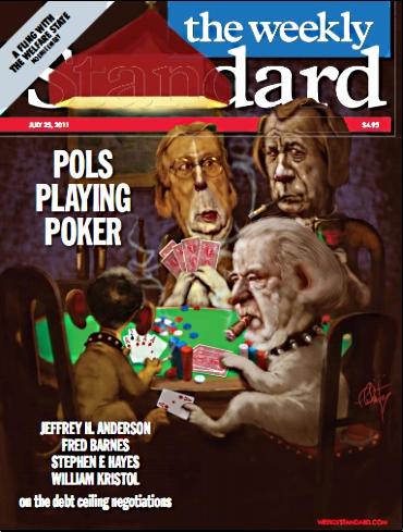 Pols playing poker