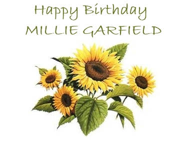 Happy Birthday Millie G