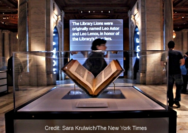 New York Library Gutenberg Bible