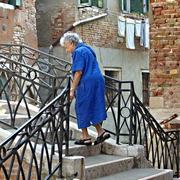 Claude Venice Old Woman