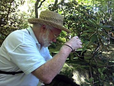Peter at Japanese Garden