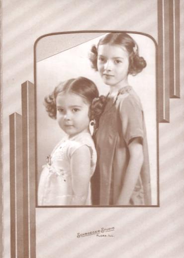 The Schroeder girls at Schroeder's Studio