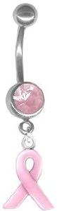 Pinkjeweledbellybuttonringamazon