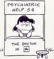 Peanuts Lucy Psychiatric Help