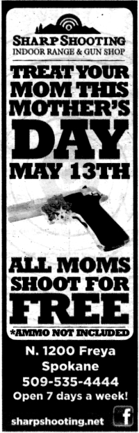 Mother's Day Gun Advertisement