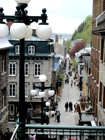 Quebec - lower town