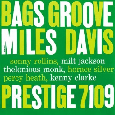 Bag's Groove album cover