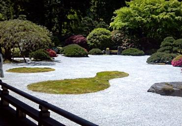 Japanese Flat Garden