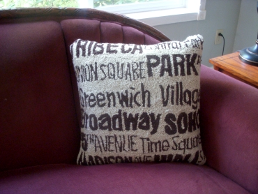 NYC Cushion