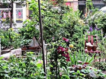 Greenwich Village garden