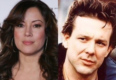 Jennifer Tilly and Mickey Roarke