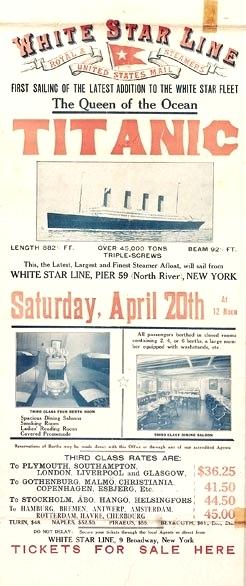 Titanic ad