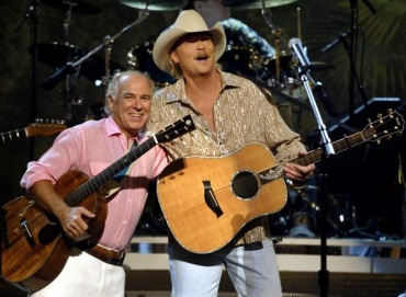 Alan Jackson and Jimmy Buffett
