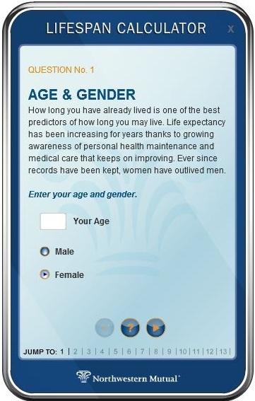 LifespanCalculator