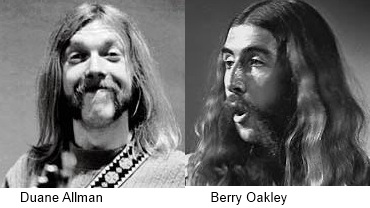 Duane Allman and Berry Oakley