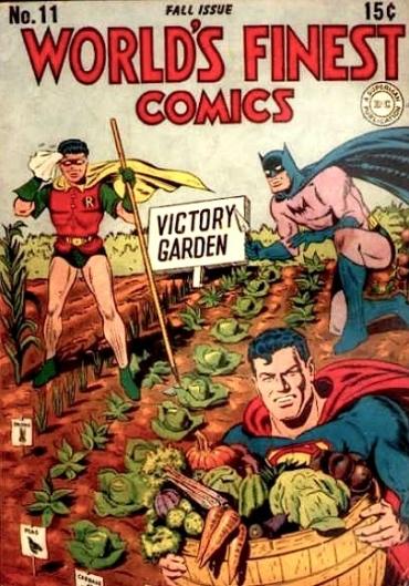 Super Hero Victory Garden