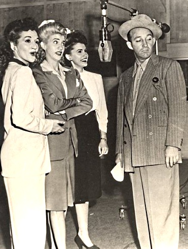 Bing Crosby and the Andrews Sisters