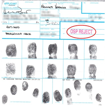My Fingerprints card