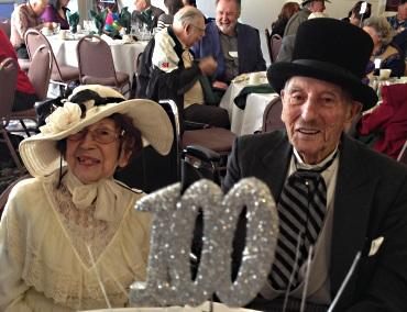 Milton 100 birthday