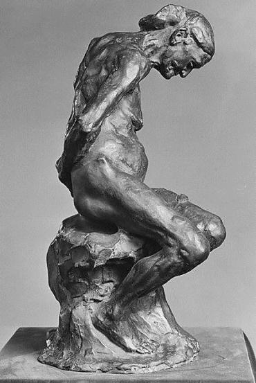 The Old Courtesan - Rodin