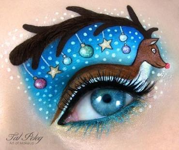 Tal Peleg eye makeup