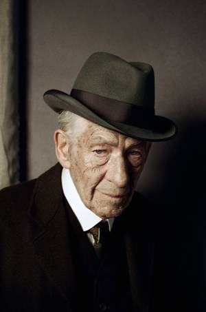 McKellen as Holmes - AP Photo/Agatha A Nitecka, See-Saw Films