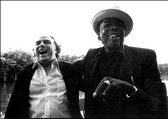 Van Morrison and John Lee Hooker