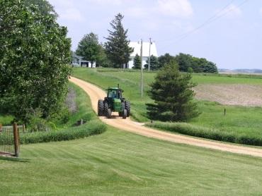 Gogerty farm lane