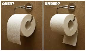 Toiletpaperoverunder