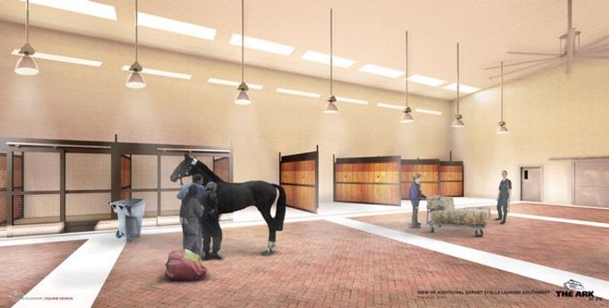 The Ark horses