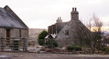 Findhorn cottageFSunderland
