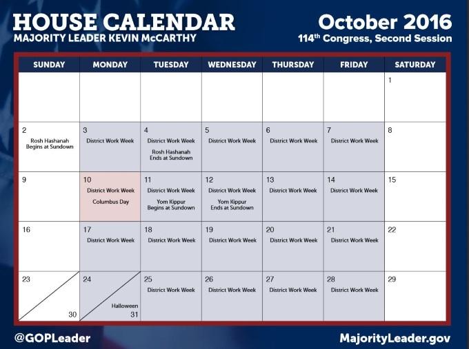 Oct2016SchduleHouse