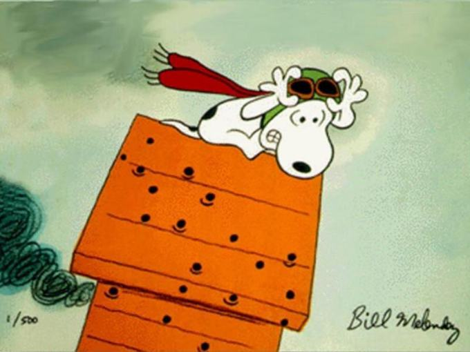 Snoopy the Red Baron