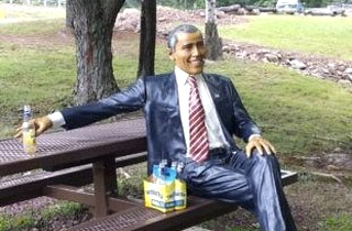 Obamastatue