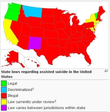 an analysis of the physician assisted suicide in the united states (cnn)physician-assisted suicide is legal in five us statesit is an option given to individuals by state law in oregon, vermont, washington and california it is an option given to individuals in montana via court decision.